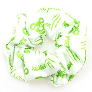 シュシュ/MISERY | ホワイト×グリーン