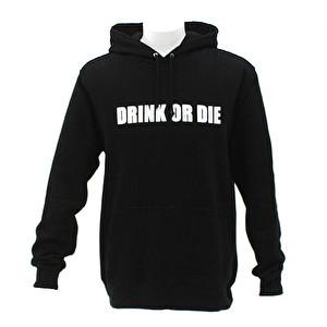 プルオーバーパーカー/DRINK OR DIE