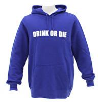 プルオーバーパーカー/DRINK OR DIE | 1