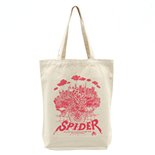 トートバッグM/URBAN SPIDER | ナチュラル×ピンク