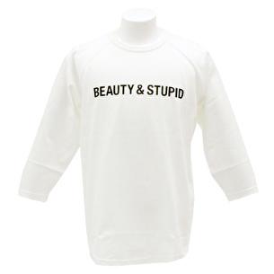 7分袖Tシャツ/BEAUTY & STUPID