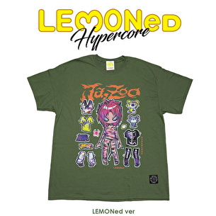 Ja,Zoo Tシャツ LEMONed ver. | カーキ
