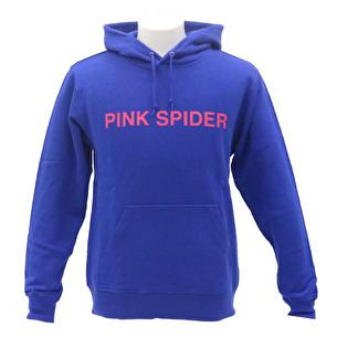 プルオーバーパーカー/PINK SPIDER | ブルー×ピンク