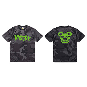 Tシャツ/Black CAMO MISERY