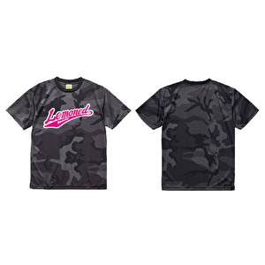 Tシャツ/Black CAMO LEMONed