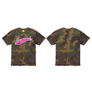 Tシャツ/Woodland CAMO LEMONed